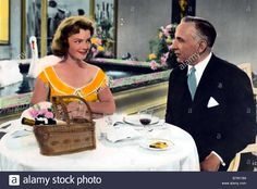 Download this stock image: Kitty Kitty und die große Welt Année 1956 west Germany Romy Schneider Réalisateur Alfred Weidenmann - B7W13M from Alamy's library of millions of high resolution stock photos, illustrations and vectors.