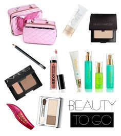 """""""Beauty to go"""" by dayna-marie on Polyvore featuring beauty, Jane Iredale, NARS Cosmetics, Laura Mercier, Clinique and Physicians Formula"""