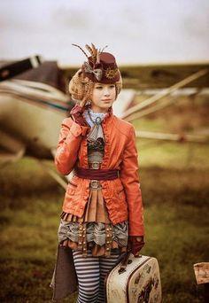 steampunk gothic fashion