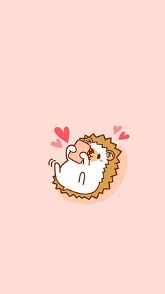 Hedgehog Art, Cute Hedgehog, Wallpaper Iphone Disney, Kawaii Wallpaper, Blue Wallpaper Phone, Hedgehog Illustration, Cute Illustration, Fall Wallpaper, Cute Wallpaper Backgrounds