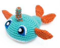 Narwhal Stuffed Animal... Custom by thefadedwildflower on Etsy