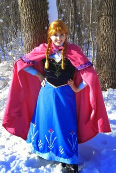 Princess Annabelle from everyone's favorite wintery movie! www.twincitiespartyprincess.com
