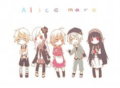 Alice Mare #Game Maker Game, Rpg Maker, Rp Games, Mad Father, Kaito, Rpg Horror Games, Indie Games, Videogames, Chibi