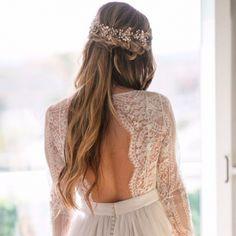 Cristal plus - hip&love Wedding Book, Bohemian, Bride, Wedding Dresses, Hair Styles, Fashion, Boho Dress, Crystals, Vestidos