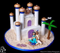 Aladdin Wedding Cake
