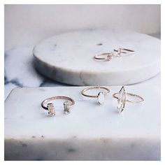 Bing Bang's modern minimal sparkly vibes culminate in the most PERFECT rings.