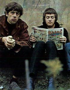 John Mayall and Eric Clapton