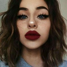 Huge lips make-up - Miladies.internetHuge lips make-up - Miladies. Makeup Goals, Makeup Inspo, Makeup Trends, Makeup Inspiration, Makeup Ideas, Makeup Tutorials, Makeup Art, Makeup Salon, Makeup Style