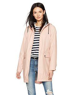 MINKPINK Women's Rain Mac Pink S