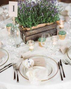 30 Outstanding Wedding Table Decorations ❤ wedding table decorations friendly lavender centerpiece in wooden box eline jacobine #weddingforward #wedding #bride