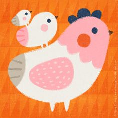 chickens | flora chang, Happy Doodle Land