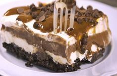Sweets Recipes, Candy Recipes, Summer Desserts, Easy Desserts, Food Network Recipes, Food Processor Recipes, Oreo Torta, Ice Cream Recipes, Desert Recipes