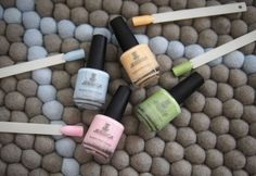 """@Essie Martin reviews Jessica Gelato Mio Custom Colours: """"Pastel nails are my go-to all year round (I know it's more of a summer thing, but I wear light shades all year no matter what the temperature). Inspired by mouthwatering flavours of gelato, these shades are very tasty!""""    http://www.essiebutton.com/2013/09/02/pastels-jessica-gelato-mio-collection/"""