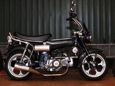 Honda CT70 Very impressive build thread. Bike Name: Darxside Owner: Babu Source: MonkeyBikeOz