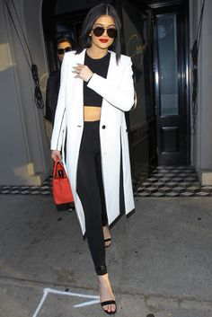 Keepin' it simple with black and white looks
