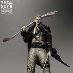 """Uther Doul from China Mieville novel """"The Scar"""" #characterdesign #conceptart #illustration #novel"""