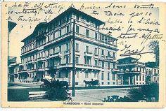 """""""Hotel Imperiale!, 1913, progetto dell'arch. Gaetano Orzali, Viale G. Carducci, Viareggio. foto d'epoca, anni '50 c."""