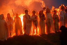 Learn all about Ireland's Celtic holidays and how to celebrate them here. There are eight special sacred days in Ireland that date back to the ancient Celtic world. Irish Festival, Celtic Festival, Fire Festival, Halloween In Ireland, Fair Day, Irish Mythology, St Brigid, All Souls Day, Autumnal Equinox