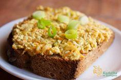 Vločková pomazánka Czech Recipes, Raw Food Recipes, Party Snacks, Banana Bread, Sandwiches, Food And Drink, Cooking, Healthy, Sweet