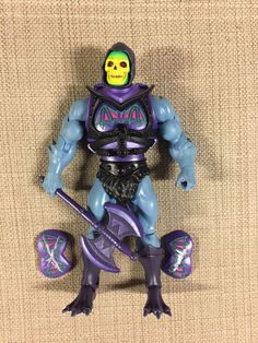 MOTUC Battle Armor Skeletor figure complete Masters Universe Classics MOTU #Mattel