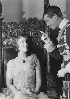 Jeanette MacDonald & Maurice Chevalier - these two made the most adorable, charming movies together.