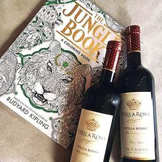 #StellaRosa #wine and The Jungle Book is a great way to spend a relaxing afternoon. Thanks for your fan photo, @_femaleyeezus!