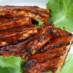 Outta The Park BBQ Grilled Tofu Recipe | Outta the Park BBQ Sauce