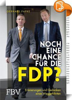 Noch eine Chance für die FDP?    :  Quo vadis, FDP? Mit Christian Lindner an der Spitze will die FDP bei den Bundestagswahlen ein strahlendes Comeback feiern. Doch wofür steht die Partei überhaupt?  Einer, der weiß, wie es um die Liberalen steht, ist Gerhard Papke. Sieben Jahre war er FDP-Fraktionsvorsitzender im Landtag von Nordrhein-Westfalen, von 2012 bis 2017 Landtagsvizepräsident. Er war politischer Weggefährte von Jürgen Möllemann und Guido Westerwelle und viele Jahre enger Vertr...