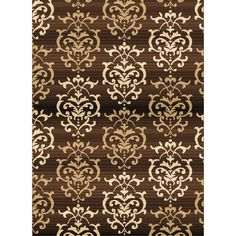 Found it at Wayfair - Dallas Countess Brown Area Rug
