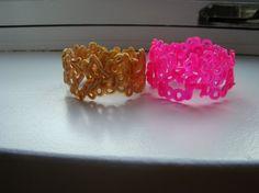 hama perle armbånd - melted beads bracelet