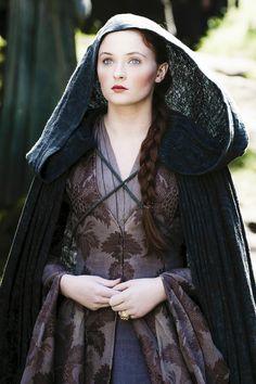 Mantel im typischen Northener Style getragen, aber aus etwas luftigerem Stoff