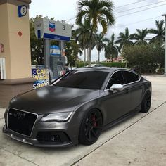 Repost via Instagram: Loving This Audi!   S M A S H  T H A T  L I KE  B U T T O N!   #FE_MotorWorks #Audi #GasStation #S #SPower #FillUp | Via: @rs_svn | by fe_motorworks