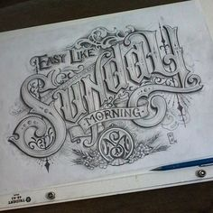 17 Best Ideas For Vintage Logo Tattoo Hand Lettering Tattoo Lettering Styles, Chicano Lettering, Typography Drawing, Graffiti Lettering, Creative Lettering, Types Of Lettering, Script Lettering, Vintage Typography, Tattoo Fonts