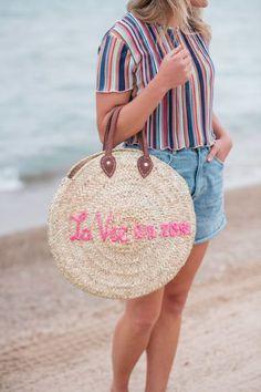 923e1fce641 La Vie en Rose Embroidered Tote