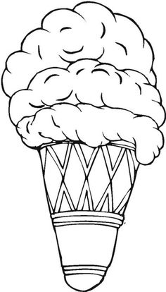 Chocolate Chip Ice Cream Coloring Pages - Cookie Coloring Pages : KidsDrawing – Free Coloring Pages Online Ice Cream Coloring Pages, Coloring Pages For Kids, Cone Template, Draw Ice Cream, Chocolate Chip Ice Cream, Outline Drawings, Ice Cream Flavors, Online Coloring, Drawing Lessons