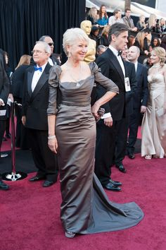 Helen Mirren in Vivienne Westwood, Oscars 2011
