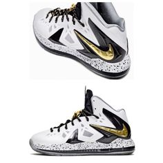 NIKE LEBRON X 10 PS ELITE Good condition. Paid $300 brand new. Cover image for description only, gold laces and buckle not included. No box. No trades or PP. Nike Shoes Athletic Shoes