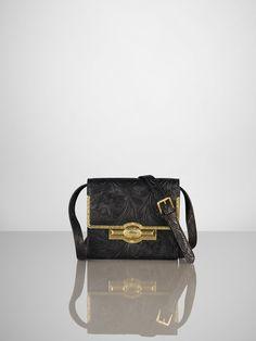 Tooled Mini Cross-Body Bag - Ralph Lauren Handbags  Handbags - RalphLauren.com