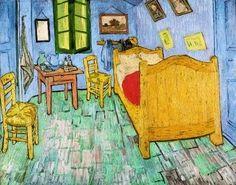 Vincent van Gogh, The Bedroom on ArtStack #vincent-van-gogh #art