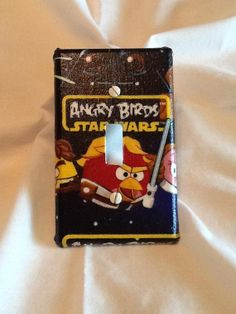 Angry Birds Star Wars Light Switch Cover by grannyharper on Etsy, $8.00