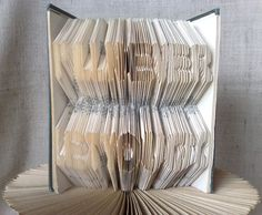 Items similar to Book folding pattern and FREE Tutorial - I'll never let you go - folded book art, origami, gift on Etsy Let You Go, Origami, Recycled Books, Book Folding Patterns, Folded Book Art, Book Sculpture, Love Gifts, Tutorial, Etsy Handmade