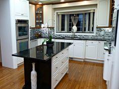Beautiful kitchen staged by Maximum Impact Plus