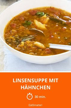 Eat Smarter, Chili, Low Carb, Soup, Ethnic Recipes, Gluten Free Recipes, Turmeric, Lunches, Treats