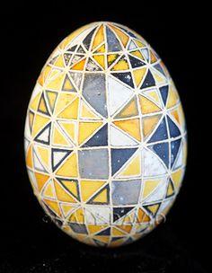 ©Katy David 2016 Goose egg, aniline dye, ink, varnish  For more information and photos, go to: http://katydavidart.blogspot.com/2017/01/friday-egg-senescence.html