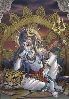 Unusual depiction of Mahadeva Shiva Mahakal Shiva, Shiva Art, Krishna Art, Durga, Shri Ganesh, Hanuman, Lord Shiva Hd Images, Shiva Lord Wallpapers, Indian Gods