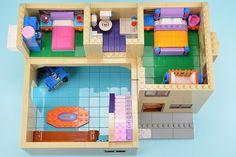 Lego Minecraft, Lego Lego, Minecraft Buildings, Legos, Lego Friends Sets, Lego Creative, Little Girl Toys, Lego Blocks, Lego Birthday
