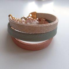 Nieuw nieuw nieuw  Coco leren armbandjes in deze leuke pastelkleurtjes!  Bestel ze voor €8,95 via madewithlove725@gmail.com
