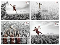 Beijing Olympics 2008 | 110 Creative Advertisement for Inspiration | 10Steps.SG