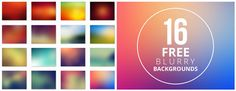 Free blurry background set 1 http://www.designfreebies.org/web-design/ultimate-collection-of-300-free-blurry-backgrounds/