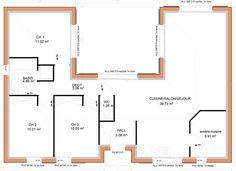 10 Meilleures Images Du Tableau Plan Maison 90m2 En 2017 House
